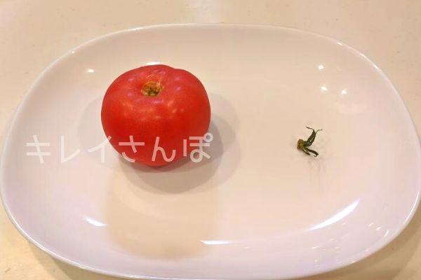 冷凍トマト作り方2